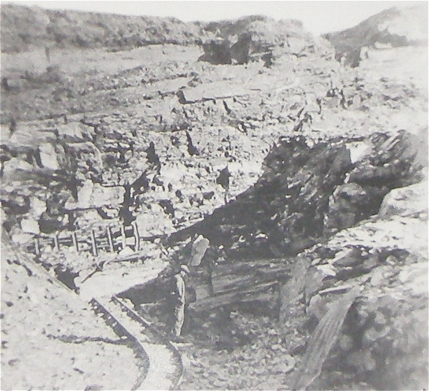 Balvicar Quarries in the 1950s