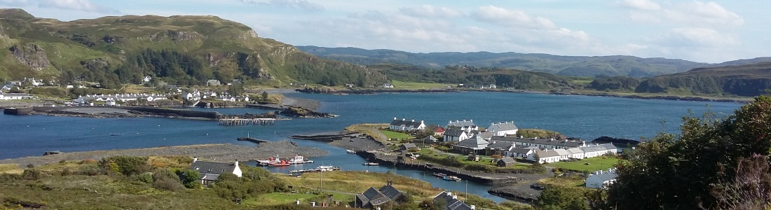 Ellenabeich from Easdale