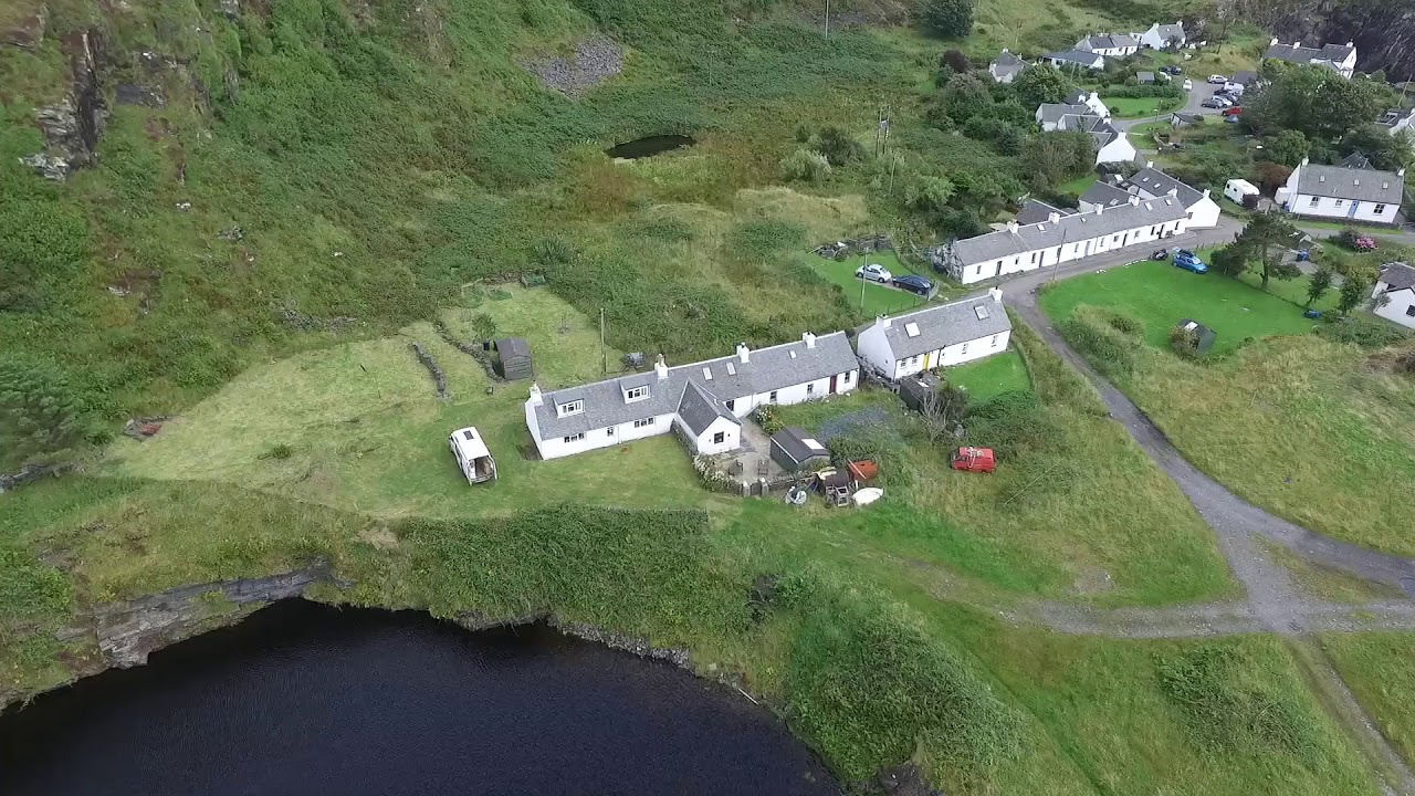 Cottages and Quarries, Isle of Luing